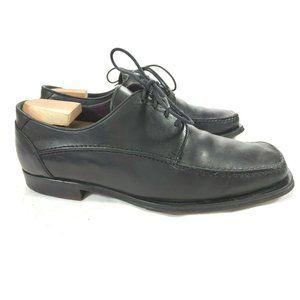 MENS BRUNO MAGLI NATE SIZE 9.5M BLACK Leather MOC